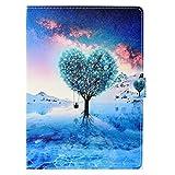 Coopay Élégant Pochette Coque Tablette Samsung Galaxy Tab 4 10.1 Pouces SM-T530/T535 Bleu Ultra...