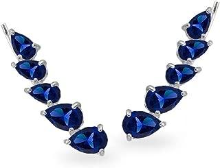 Best sapphire climber earrings Reviews