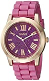 XOXO Reloj de xo8086Rose Gold-Tone y rosa para mujer