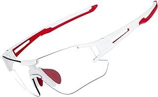 RockBros Cycling Sunglasses Photochromic Bike Glasses for Men Women Sports Goggles UV Protection