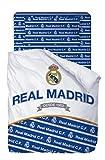 Real Madrid Juego De Sabanas de 3 Piezas (160x270 + 90x200/25 + 45x110) RM181181