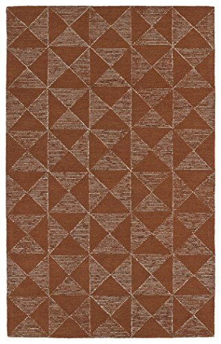 Kaleen Rugs Evanesce Collection ESE03-53 Paprika 2' x 3' Handmade Rug