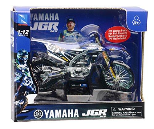 New Ray - 1:12 Yamaha YZ450F Justin Barcia, 57713