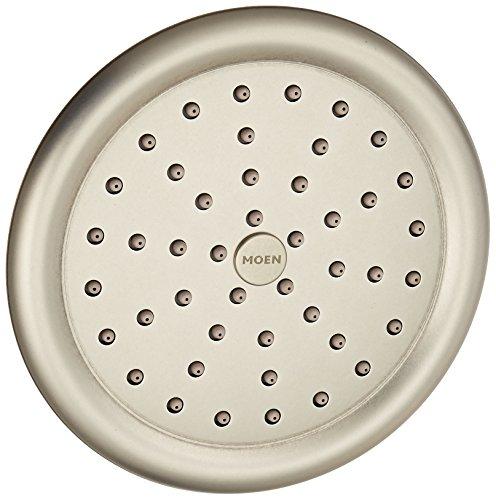 Moen S6310AN ExactTemp Single Function Rainfall Shower Head, Antique Nickel
