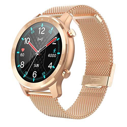 ZYY Smart Watch Smart Watch S30 IP68 Masculino y Femenino Tracker Soportes Admite la marcación Personalizada RECORDATORIO SMS Ritmo cardíaco Sleep SmartWatch,K