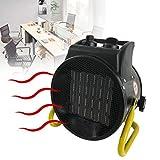 EnweLampi Ventilador Calefactor Industrial Profesional, PTC Calefacción De Portátil Cerámica con...