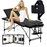 Free Carry Bag! Professional Massage Table Beauty Couch Bed Aluminium Material Lightweight Portable