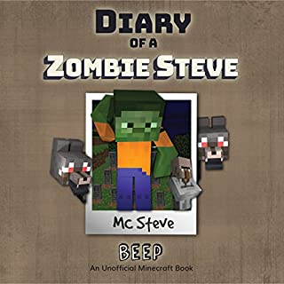 Diary of a Minecraft Zombie - Steve, Book 1: Beeper audiobook cover art