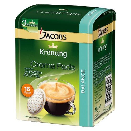 Jacobs Pads Balance 16 Stück Kaffeepad 105g