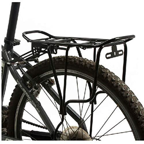 Portaequipajes para Bicicletas 50 kg de Capacidad de Carga Equipaje de la Bici Estante de Super Strong Bicicletas al portaequipajes de la Bicicleta 26 Pulgadas para Viajes Largos