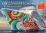 Kreuzfahrtschiffe - die Welt erwartet Dich (Tischkalender 2022 DIN A5 quer): Sehnsucht nach der nächsten der nächsten Reise. Traumhafte ... auf ihre Gäste. (Monatskalender, 14 Seiten )