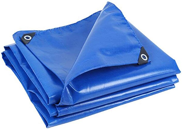 Dall Bache Imperméable étanche à La Pluie Preuve De La Poussière Bache De Poncho en Plein Air épaisseur 0.45mm, 500G   M2 (Couleur   bleu, Taille   4×8m)