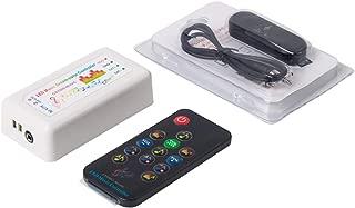 BTF-LIGHTING WS2812B WS2811 WS2813 1903 LED Strip/Panel Bluetooth Music Dream Color CSY08 Controller 13 Keys RF Remote 512 Pixels