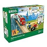 Brio World - 33773 - Circuit en 8 Voyageurs - Coffret complet de 26 pièces avec tunnel et pont - Circuit de train en bois - Jouet mixte à partir de 3 ans