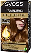 SYOSS Oleo Intense Permanent Oil Color Professional Performance Free AMMONIA 6-80 Hazelnut Blond