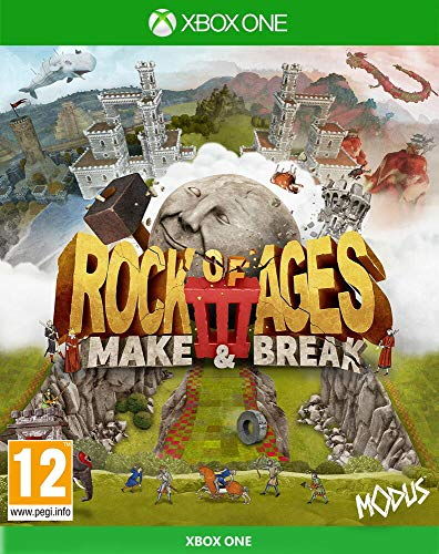 Justforgames Rock of Age 3 Make & Break, Xbox One