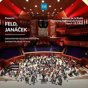 INA Presents: Feld, Janáček by Orchestre National de France at the Maison de la Radio (Recorded 18th March 1965)