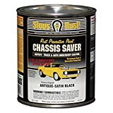 Magnet Paint Co. UCP970-04 Chassis Saver 1 Quart Can Rust Preventive Truck and Auto Underbody Coating - Antique Satin Black