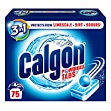 Calgon Powerball Pastiglie Anticalcare 3 in 1, 75 Tablet