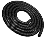 "50FT 1/4"" Split Loom Wire Tubing Auto Wire Conduit Flexible Cover"