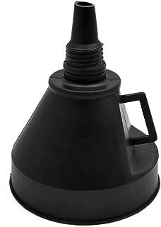 sourcingmap/® Voiture en plastique gaz carburant Filtre /à essence auto entonnoir Voyage Conduite outils