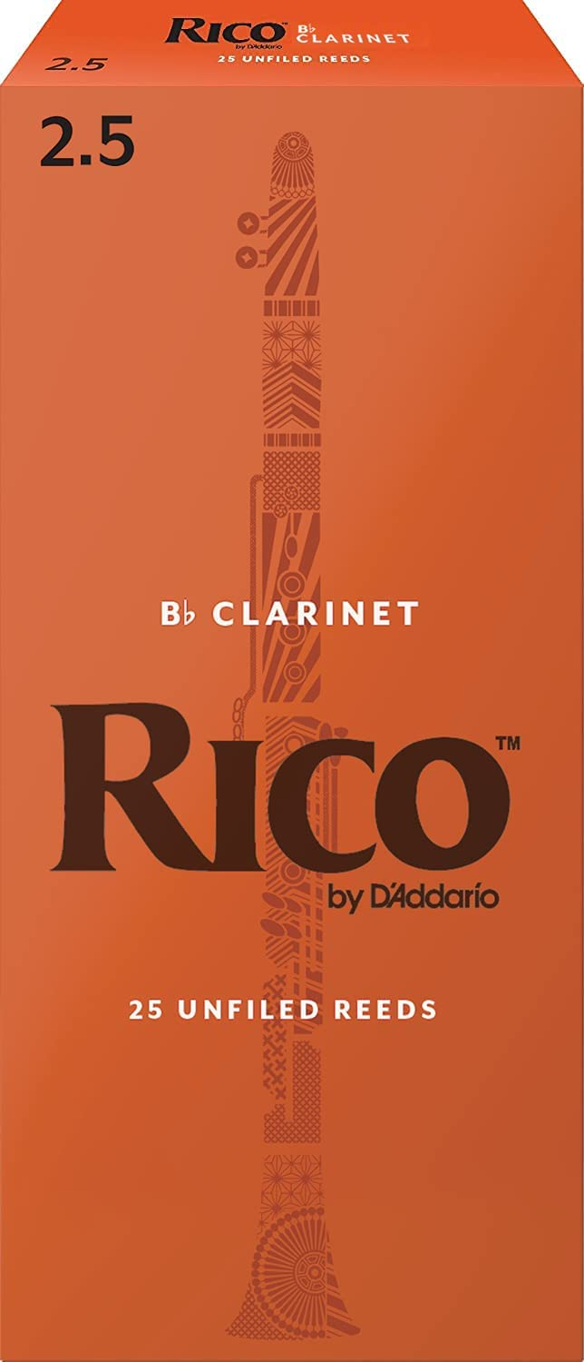 D'Addario Woodwinds Bb Clarinet Reeds Strength 25-Pac Max 67% OFF Challenge the lowest price 2.5