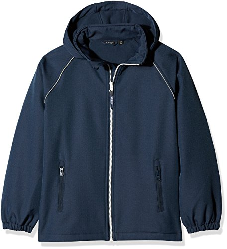 NAME IT Jungen NITALFA Softshell Jacket HB Blue NMT FO Jacke, Blau (Dress Blues), 146