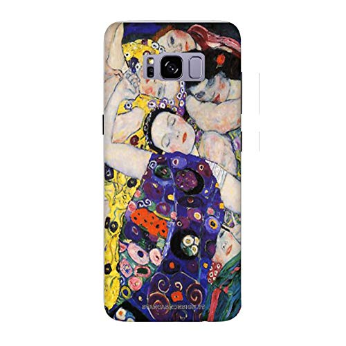 Funda Galaxy S8 Carcasa Samsung Galaxy S8 Gustav Klimt La virgen / Cubierta Imprimir tambi�n en los lados / Cover Antideslizante Antideslizante Antiara�azos Resistente a golpes Protectora R�gida