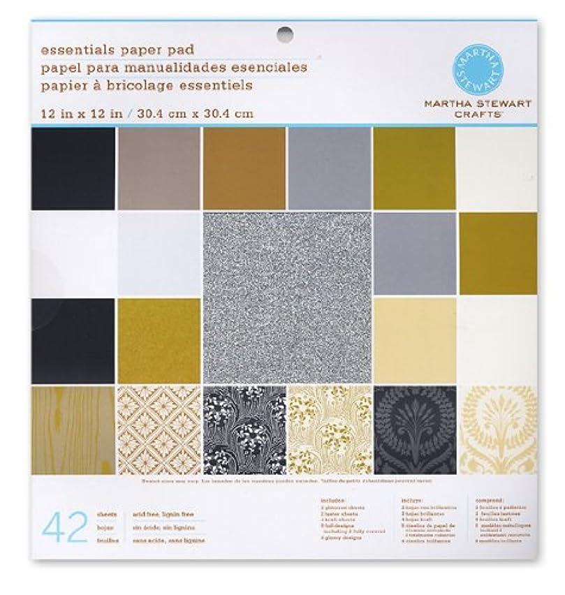 Martha Stewart Crafts - 12 x 12 Essentials Paper Pad - Neutrals