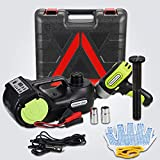 Anbull Electric Car Floor Jack 5 Ton DC12V Automatic Hydraulic Car Jack Lift with Electric Impact Wrench & Inflator Pump Car Repair Tool for Tire Change & Repalcement for SUV MPV Sedan Truck