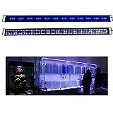 Aquarien ECO Rampe LED Aquarium 180CM Blanc Bleu...