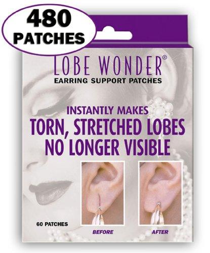 Patchs invisibles pour soulager les lobes percés