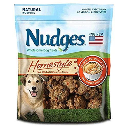 Nudges Homestyle Chicken Pot Pie Dog Treats, 16 Ounce