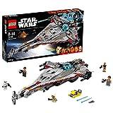 LEGO Star Wars - The Arrowhead, Maqueta de Juguete Detallada de la Nave de La Guerra de las Galaxias (75186)