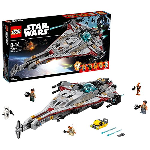 LEGO - Star Wars The Arrowhead, Miscelanea (75186)