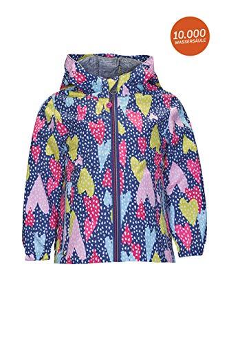 Killtec Softshelljacke Mädchen Gwyn Mini - Kinderjacke mit Kapuze - leichte Outdoorjacke - Kinder Jacke ist wasserabweisend, 86-92