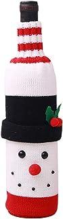 BIGABIGA ワインカバー クリスマス ボトルセット 雰囲気作り ボルト保護カバー バンケット飾り クリスマスパーティーグッズ 雪だるま
