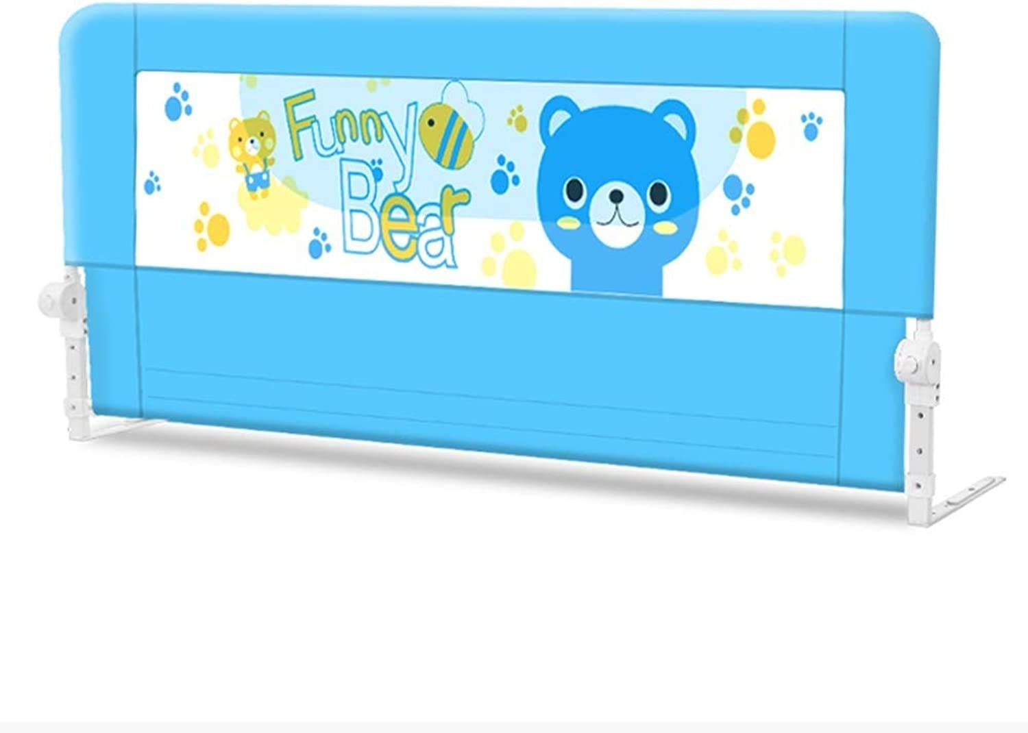Extra Long Bed Rails Newborn Baby Safety Fence Safety Bedrail Mesh Big Bed Baffle Single 70cm Tall (Size   150cm)