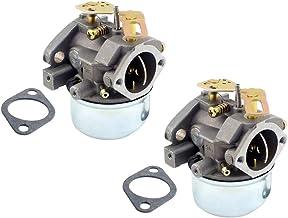 FLAMEER Carburateur 2 stuks voor sneeuwblazer Tecumseh 8hp 9hp 10hp