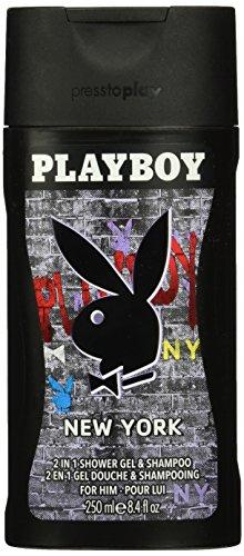 Playboy New York 2 in 1 Duschgel & Shampoo für ihn, 250 ml