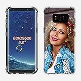 SHUMEI Funda Personalizar para Samsung Galaxy Note S8 diseño de imagen de foto Personalizar regalo de Fotos, absorción de Golpes, Cubierta de TPU Suave y Transparente Para Bricolaje HD Picture