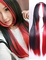 ファッション日本と韓国の高品質高温ワイヤーカラーロングヘアの爆発モデル