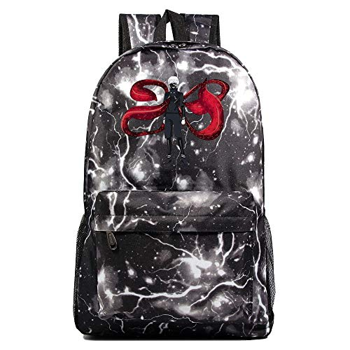 XYUANG Tokyo Ghoul Starry Sky Color Vintage Backpack College Bag Fits Laptop-p