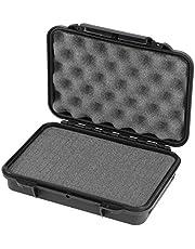 Max Cases - Scatola con Spugna Cubettata per Trasportare e Proteggere Apparecchiature e Materiali Sensibili, MAX002S, Dimensioni Interne 212 x 140 x 47 mm