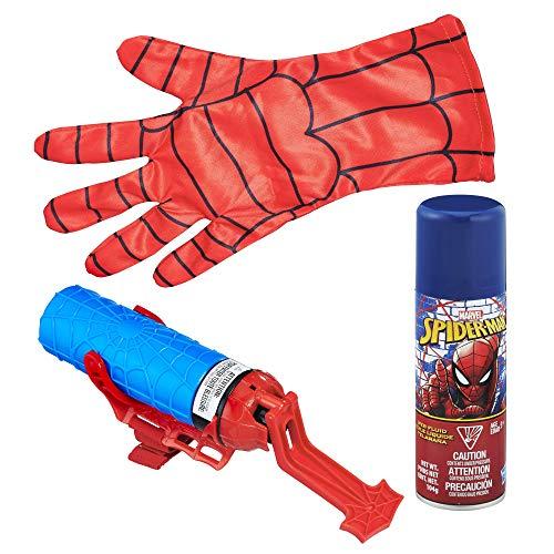 Hasbro B9764EM0 Classic Spider-Man Mega Blast Web Shooter mit Handschuh