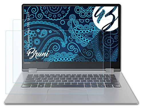 Bruni Schutzfolie kompatibel mit Lenovo Yoga 530 14 inch Folie, glasklare Bildschirmschutzfolie (2X)