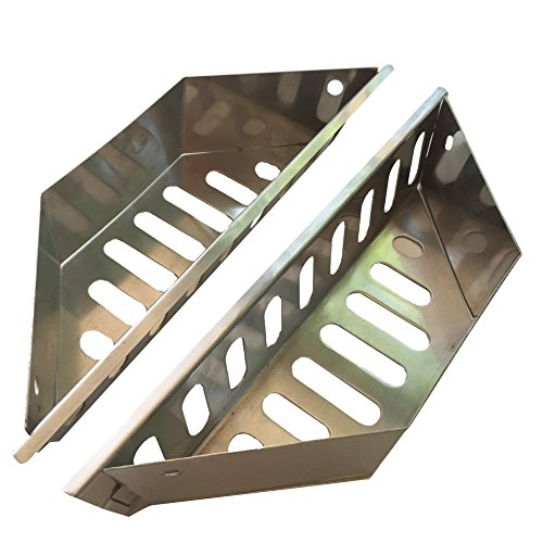 Quality Grill Parts Heavy Duty Stainless Steel Charcoal Baskets for Weber Grills