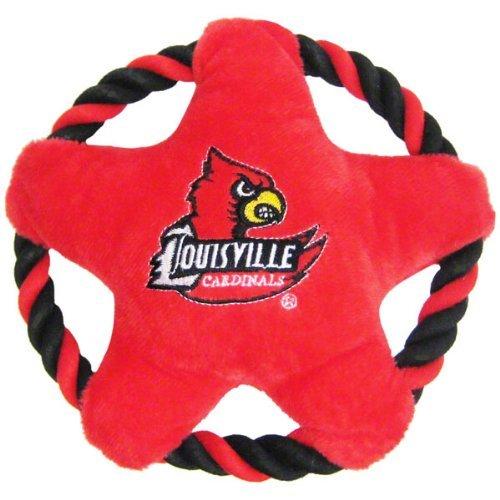 Pets First Louisville Cardinals Star Disk Dog Toy