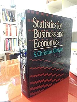 Statistics for Business and Economics 0023016205 Book Cover