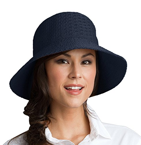 Coolibar Damen UV-Schutz Sonnenhut, Blau, OneSize